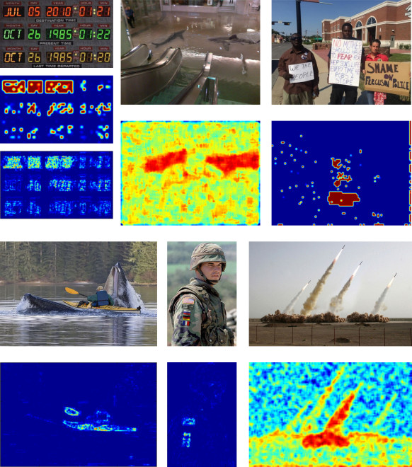 Figure 7: Examples of successful detections within the Wild Web tampered image dataset.