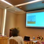 Symeon (Akis) Papadopoulos presenting