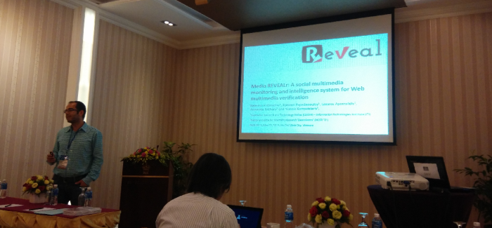 REVEAL @ Pacific Asia workshop on Intelligence and Security Informatics (PAISI)