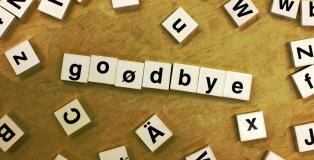 Goodbye - by woodleywonderworks