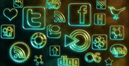 social media icons by webtreats