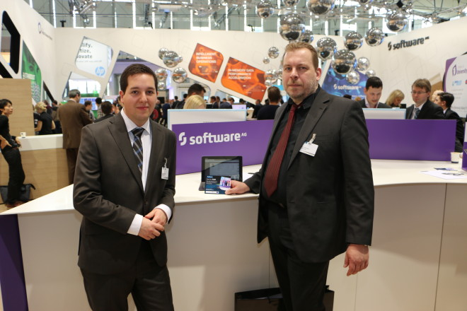 Software AG at CeBIT2015. Copyright: Software AG - Gerhard Hill