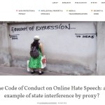Hate Speech - Freedom of Expression
