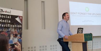 Sam Dubberley Keynote. Image by Jochen Spangenberg