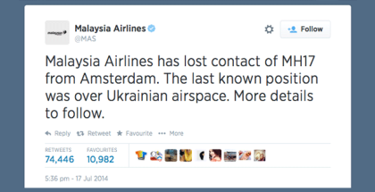 MH17-lost-MAS-tweet