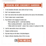 On the Media's Breaking News Consumer's Handbook