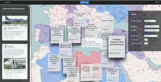 Geolocation clustered UGC